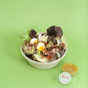 Gorgnalini e uova insalata